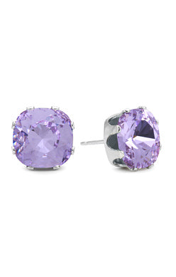 JoJo Cushion Cut Earrings Tanzanite