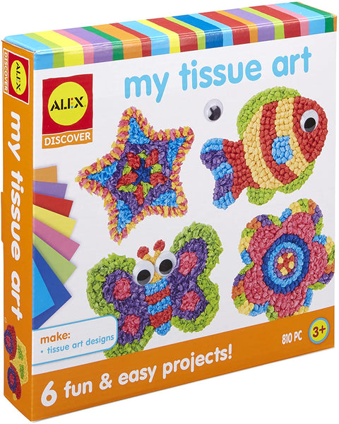 Alex - My Tissue Paper Art Kit