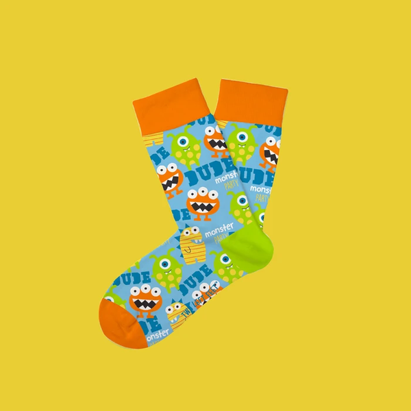 Monster Mash Kids Socks