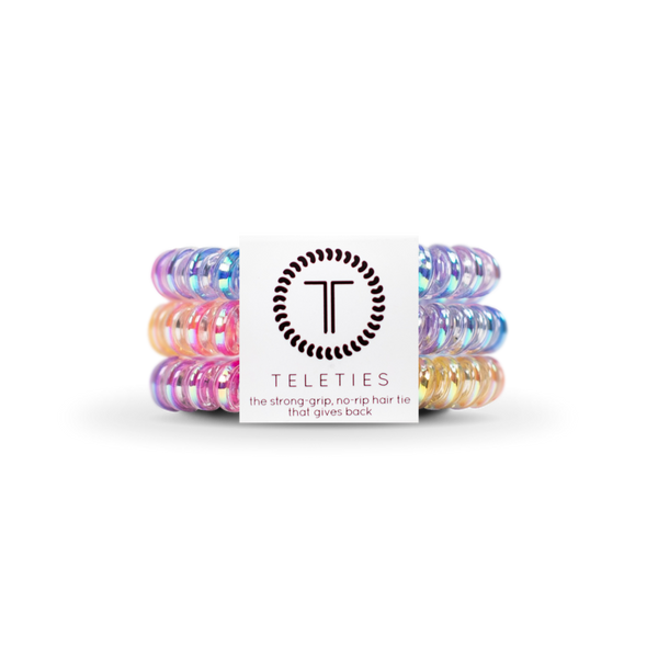 Eat Glitter for Breakfast Teleties Hair Ties