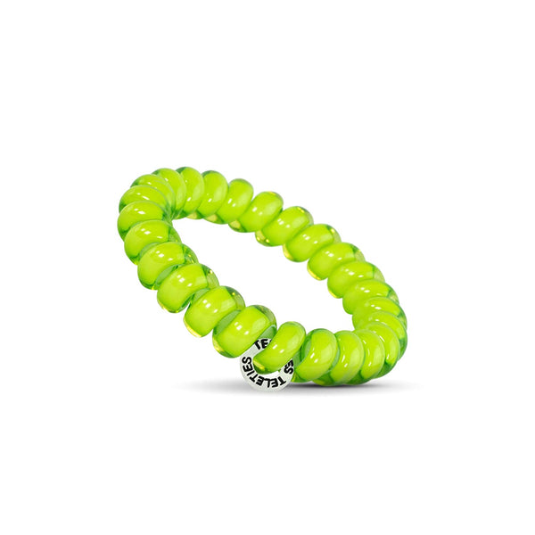 Lime Teleties Hair Ties