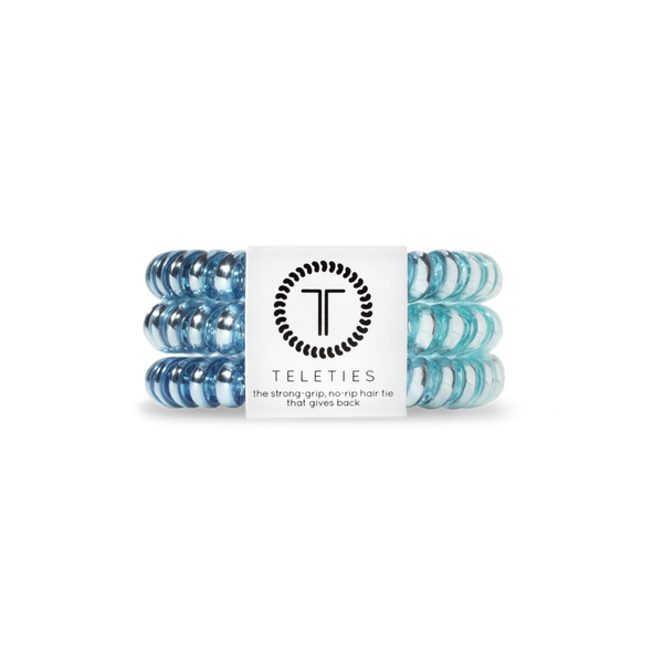 Blue Sapphire Teleties Hair Ties