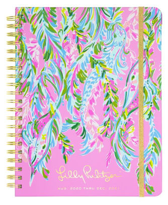 2021 Lilly Pulitzer 17 Month Jumbo Agenda, Unicorn of the Sea