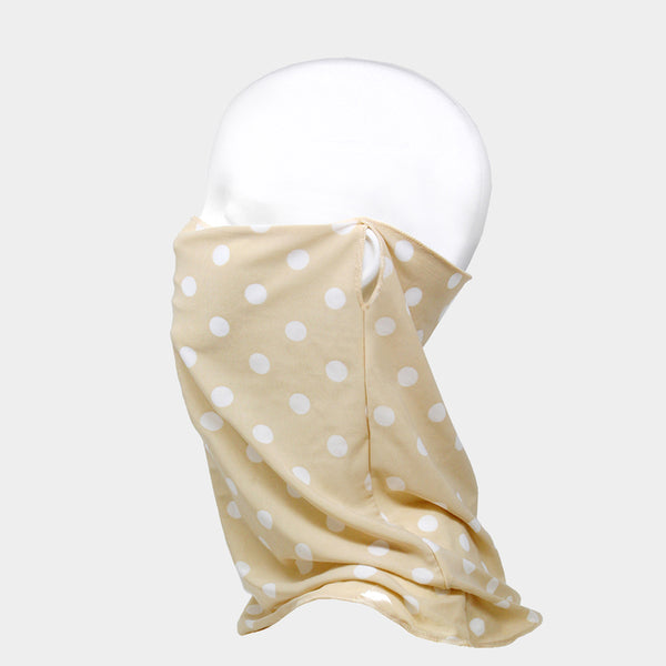 Polka Dot Cloth Face Covering