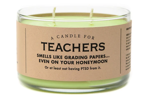Teachers Candle
