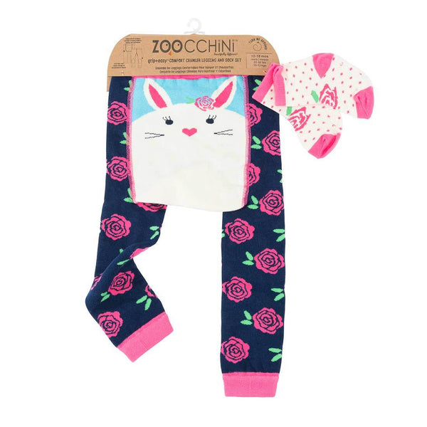 Zoochini Bunny Legging and Sock Set