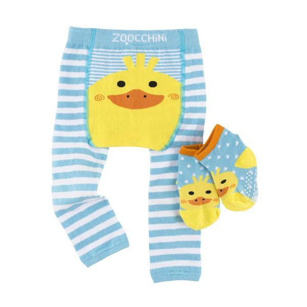 Zoochini Duck Legging and Sock Set