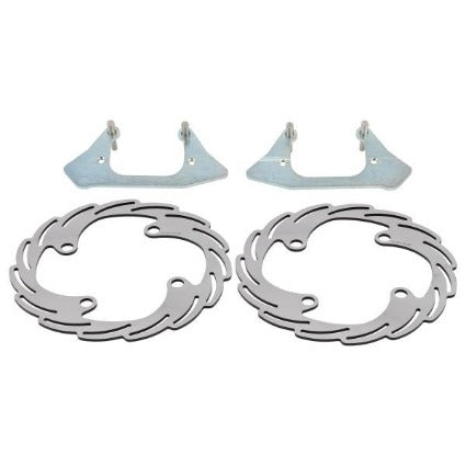Stage 5 Big brake kit - Front-Can-Am X3
