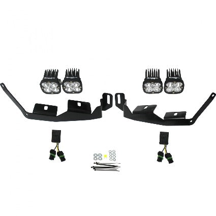 Polaris RZR XP1000 Headlight Kit 2014-On Unlimited Baja Designs