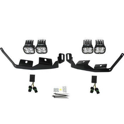 Polaris RZR 900 and Polaris General Headlight Kit 2015-On Unlimited Baja Designs