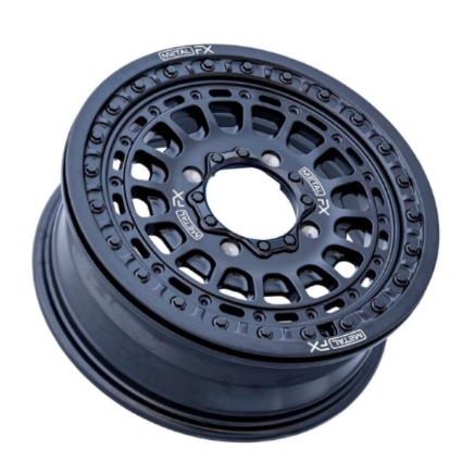 Metal FX CAST BEADLOCK WHEEL | HITMAN BLACK BEADLOCK