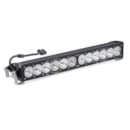 20 Inch LED Light Bar Hi Power Single Straight Driving Combo Pattern OnX6 Baja Designs