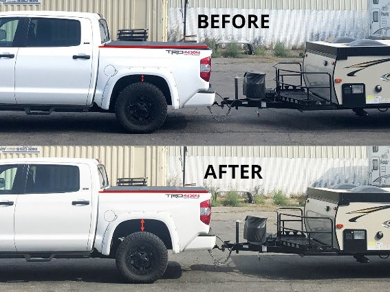 1999-2010 Ford F250 / 350 4x4 & 2wd (will fit with or without in-bed hitch) - Leveling Solutions Suspension Air Bags