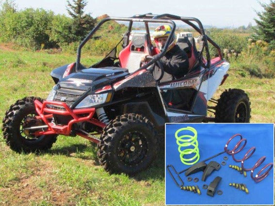 "Dalton Industries 2013 + Arctic Cat Wildcat ""X"" models, (w/Team Clutches only). Two seat Clutch Kit"