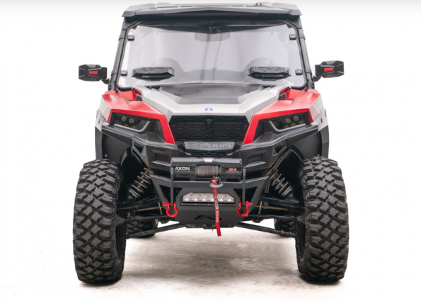 Fab Fours Fab Fours SXFB-1250-1 Winch Ready Front Bumper Polaris General 2016-2019