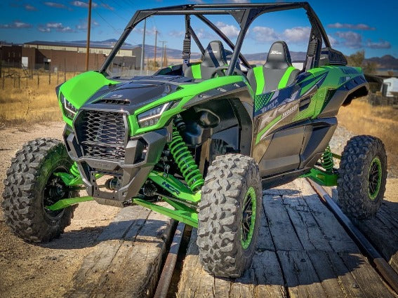 KAWASAKI TERYX KRX 1000 Long-Travel Suspension System