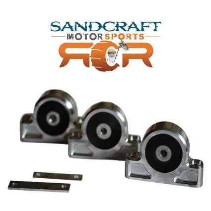 Sandcraft Billet Engine and Transmission Mount Kit - Polaris RZR XP Turbo - Polaris RZR XP 1000