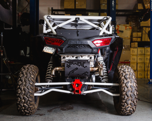 Valvetronic Exhaust System for Polaris RZR Turbo XPT and S muffler