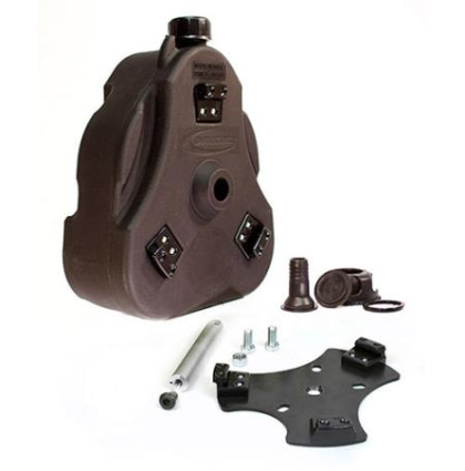 Cam Can Complete Kit (can and mount) Black 2 gallon
