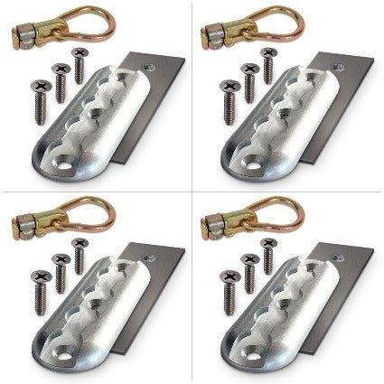 Double stud anchor plate 4 pack