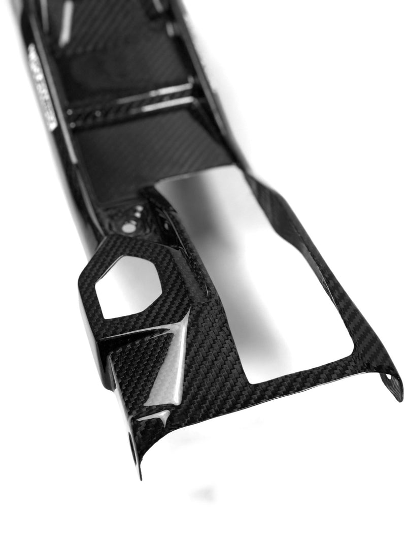 FOURWERX CAN AM MAVERICK X3 CARBON FIBER CENTER CONSOLE - W/ CUP HOLDERS X3-CF-CONS