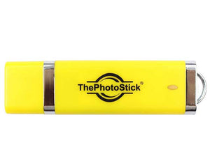 ThePhotoStick 128 GB Easy One Click Photo and Video Backup Mac - Windows
