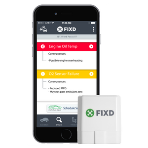 FIXD Active Car Diagnostic Device and Health Monitor