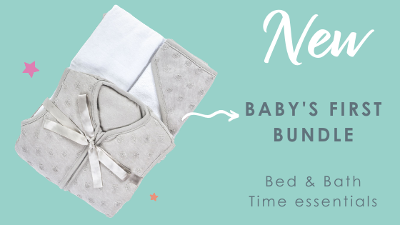 NEW Baby's First Bundle - Making bed & bathtime a breeze!