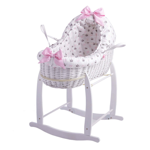 Rachel Riley My Little Princess Bassinet With Deluxe Stand