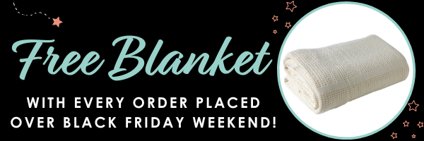 Free Blanket with Every Order