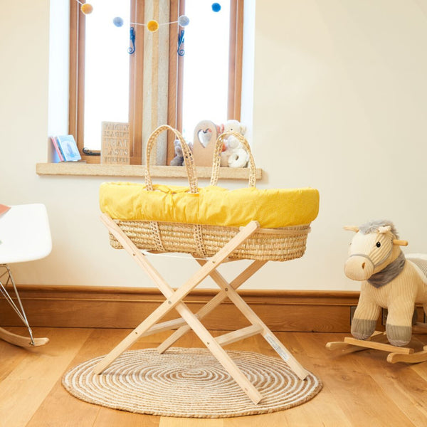 Colour Pop Palm Moses Basket