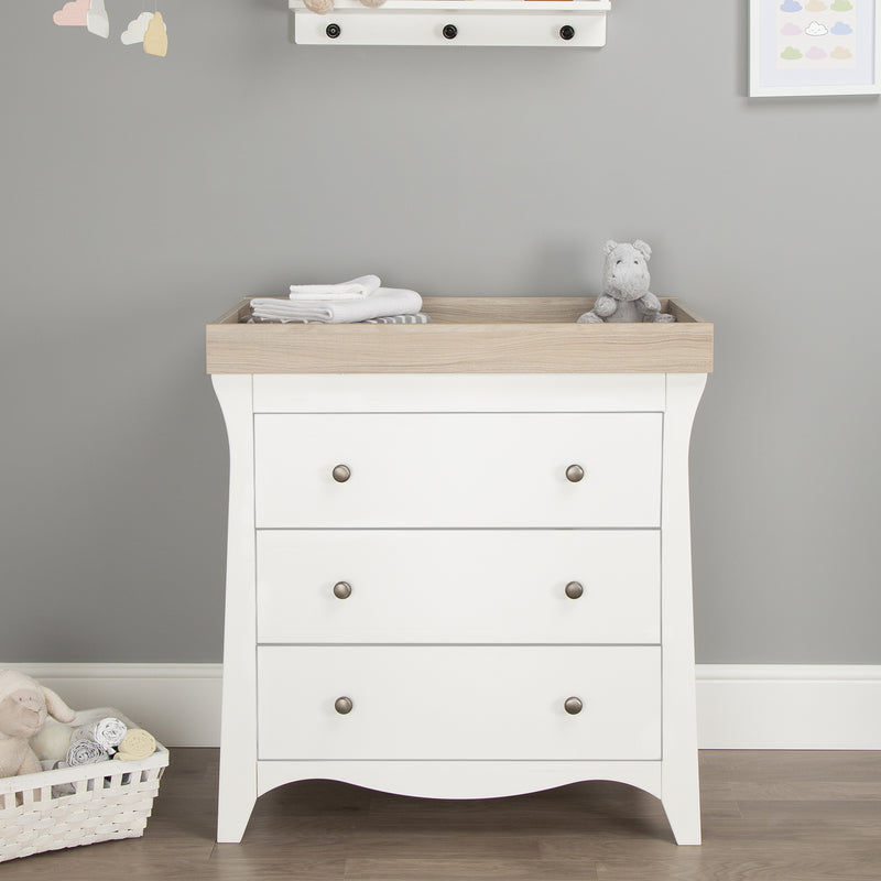 Cuddleco Clara 3 Drawer Dresser & Changer