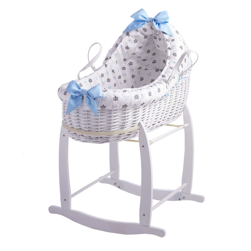 Rachel Riley My Little Prince Bassinet With Deluxe Stand