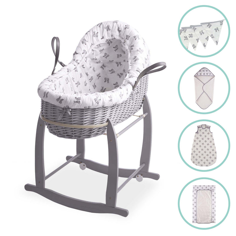 Rachel Riley Bunny Bassinet Bundle with FREE Bunting