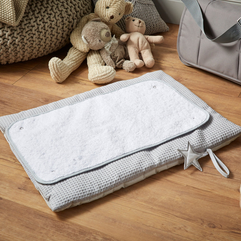 Silver Lining Roly Poly Travel & Change Mat® in Grey