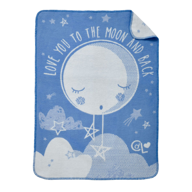 My First Moses Gift Basket in Blue