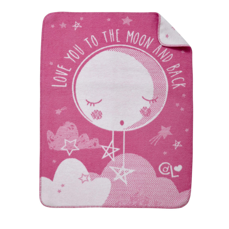 My First Moses Gift Basket in Pink