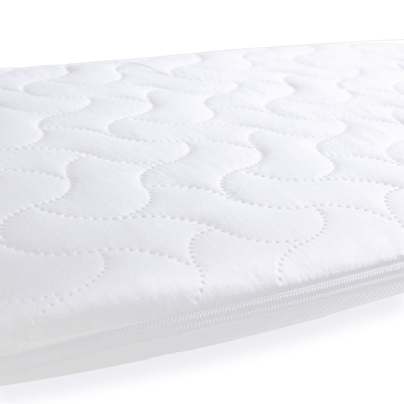 Quilted Microfibre Palm Moses Basket/Noah Pod Mattress