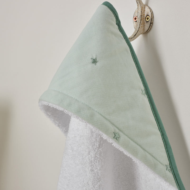 Lullaby Stars Hooded Towel