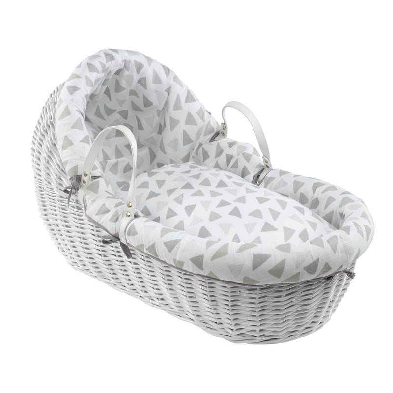 Sparkling Muslin Willow Bassinet Bedding Set