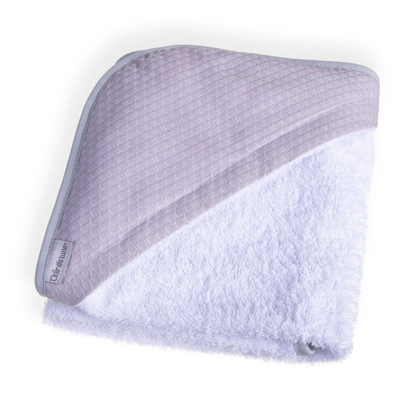 Cotton Dream Hooded Towel - Grey