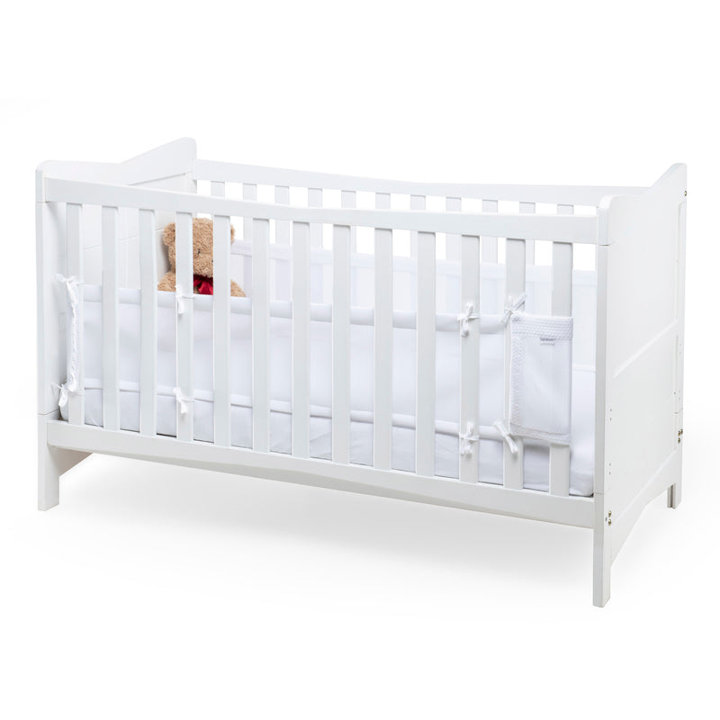 Cotton Dream Breathable Bumper - White