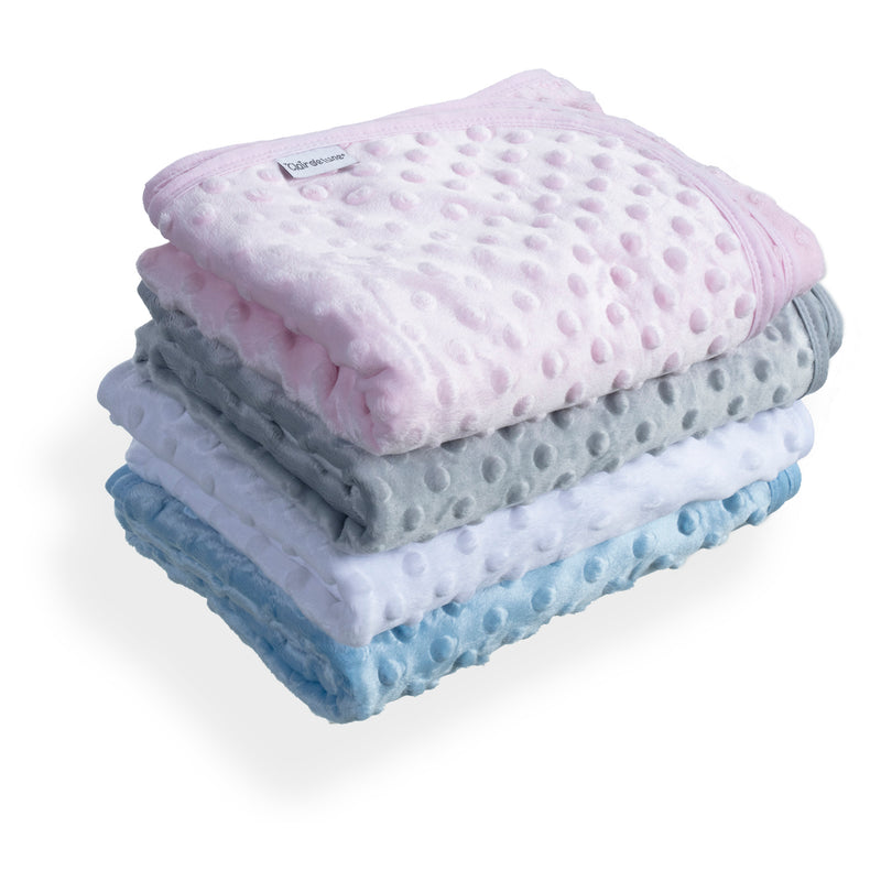 Dimple Baby Pram Blanket - All colours