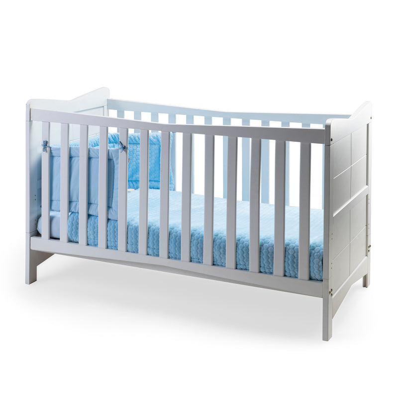 Marshmallow Cot Bedding - Blue