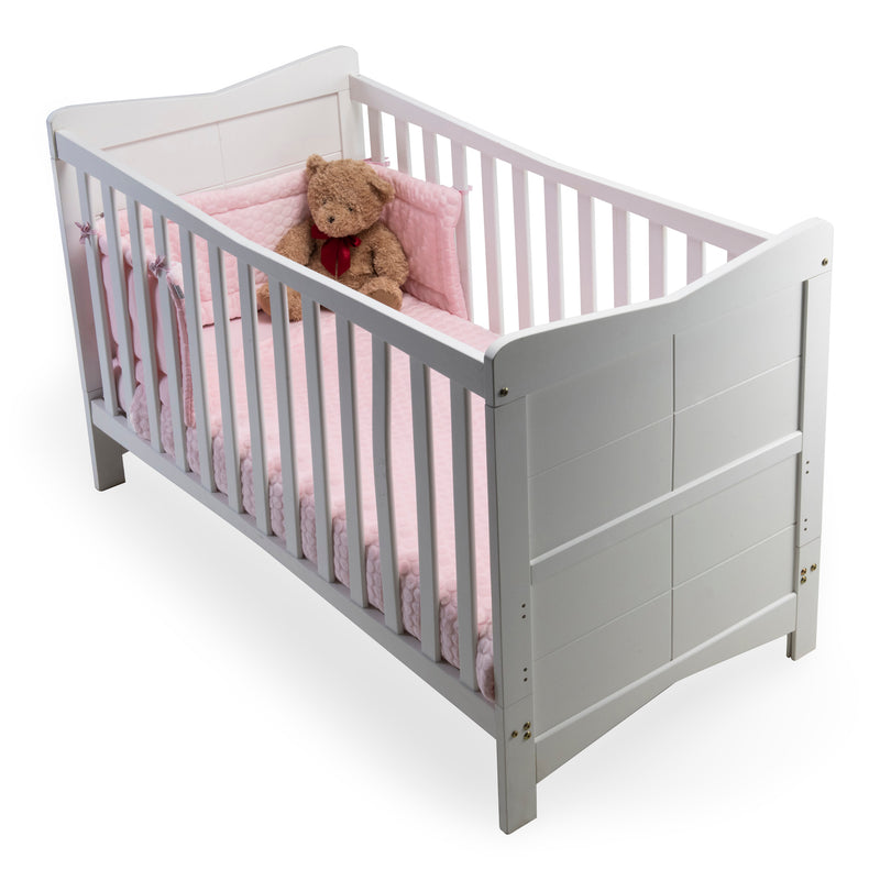 Marshmallow Cot Bedding - Pink