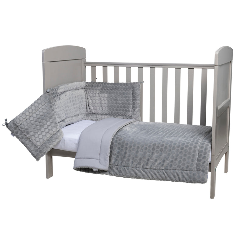 Marshmallow Cot Bedding - Grey