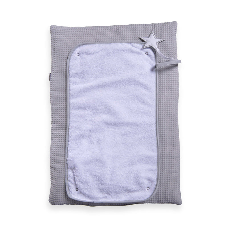 Silver Lining Roly Poly Travel and CHange Mat - Grey