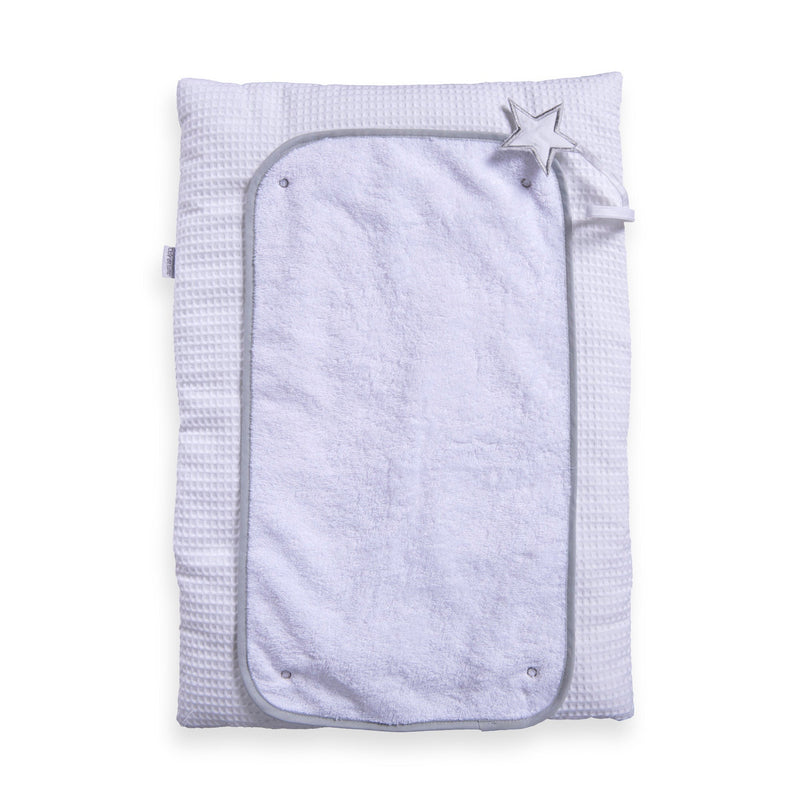 Silver Lining Roly Poly Travel and CHange Mat - White