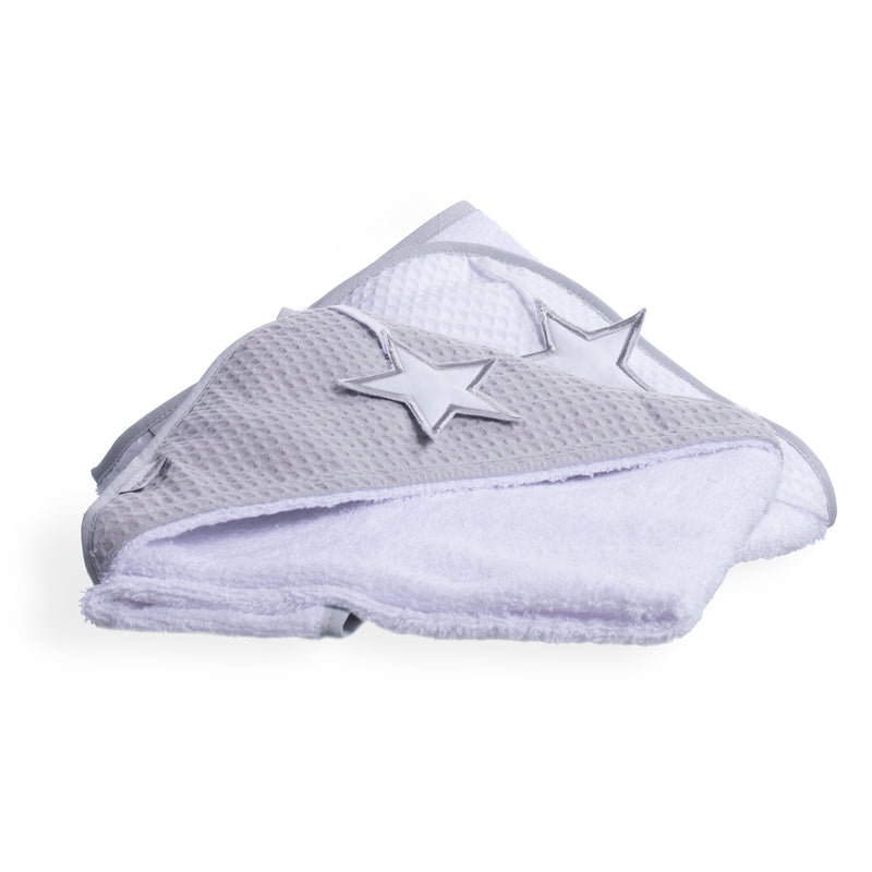 Silver Lining Hooded Towel - Stack