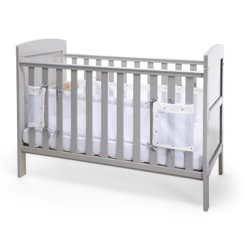 Lullaby Hearts Cot Bed Safe Sleep Bundle